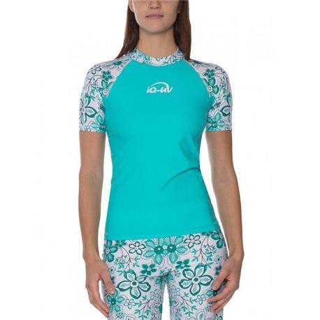 UV Shirt Dames Hippie Turquoise