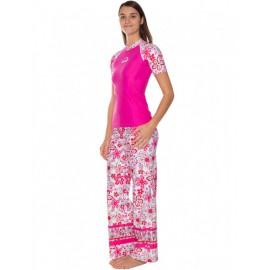 UV Shirt Dames Hippie roze