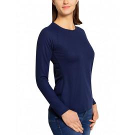 UV Shirt Dames Navy lange mouw - outdoor