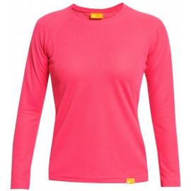 UV Shirt Dames Raspberry lange mouw - outdoor