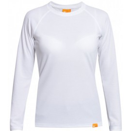 UV Shirt Dames Wit lange mouw - outdoor