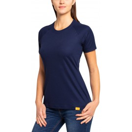 UV Shirt Dames Navy - outdoor