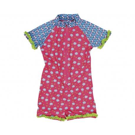 sports shoes 0eec5 0b0ac UV Anzug Blumen | Baby Badeanzug Blumen
