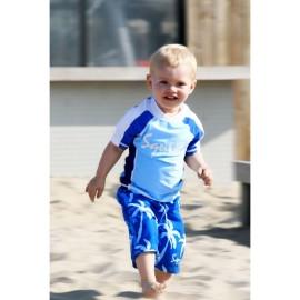 Coconut Blue UV shirt & zwembroek Palm