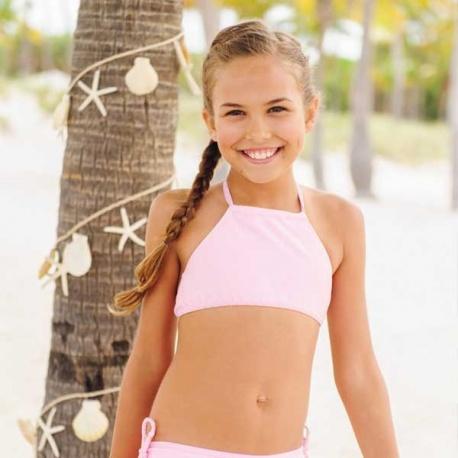 Mädchen Bikini Ballett Pink