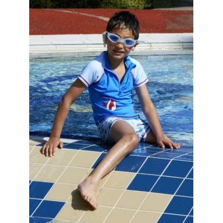 UV shirt en UV boardshort Maritiem