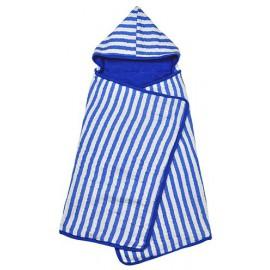Cappuchon handdoek Roze gestreept