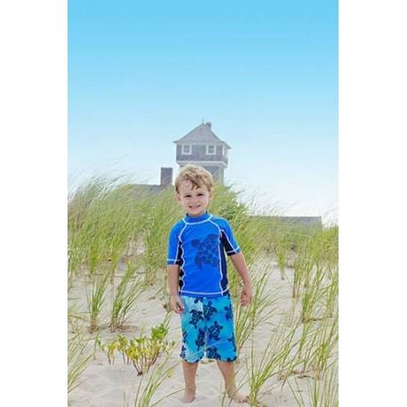 UV shirt & boardshort Red Blue