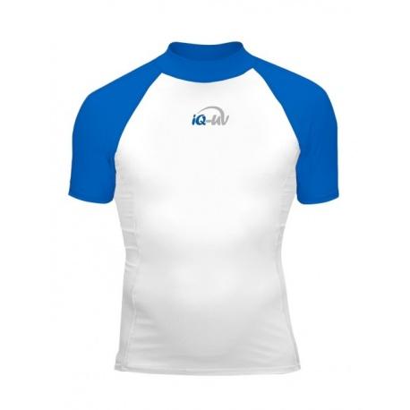 UV Shirt White Blue