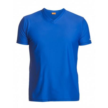 UV V-Shirt Blue | Schwimm shirt Blue mit UV schutz