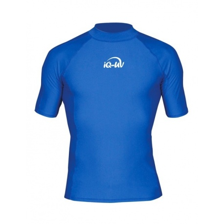 Herren UV Shirt Blue | Schwimmshirt Herren Blue IQ-UV