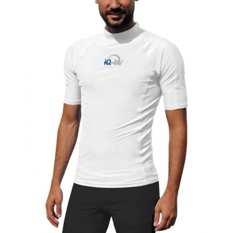 UV shirt Herren White | Herren Schwimmshirt White