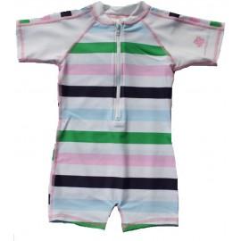 UV Badeanzug Baby Riviera Stripe