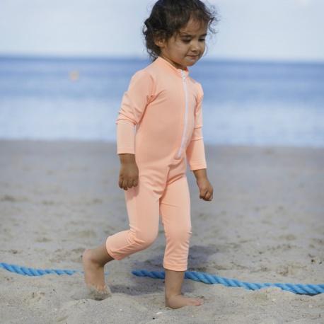 UV Badeanzug Peach lange Ärmel und Beine