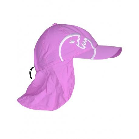 Kinder UV-Kappe violet mit Nackenschutz | UV-Schutzkappe Kinder UPF 80+ IQ-UV