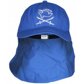 UV Kappe mit Nackenschutz Pirat | Sonnenhut mit Nackenschutz UPF 80+