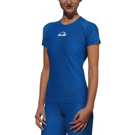 UV Shirt Loose Fit türkis | schwimmshirt damen mit UV Schutz