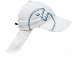 UV Kappe mit Nackenschutz weiß | Sonnenhut mit Nackenschutz