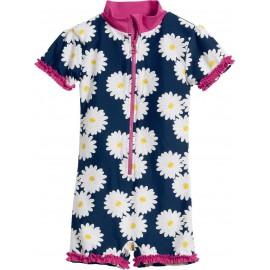 Baby badpak bloemen