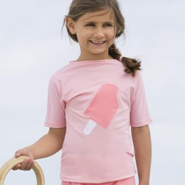 UV Shirt Soft Roses Ice Cream | Badeshirt Mädchen