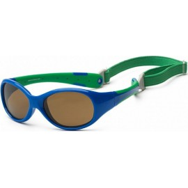 Zonnebril - Royal & Green -3-6 years - Koolsun - FLEX -