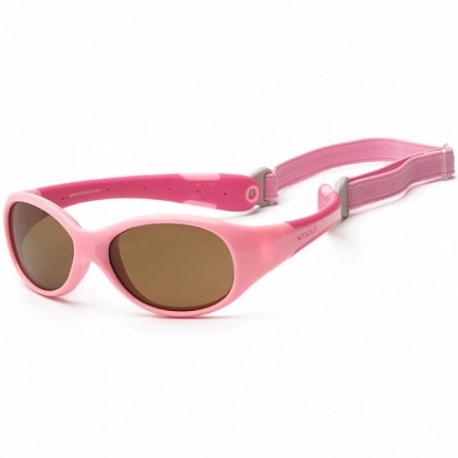 Zonnebril - Pink & Hot Pink - 3-6 years - Koolsun - FLEX -