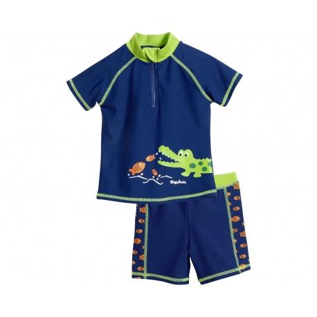 UV shirt en zwembroek Krokodil