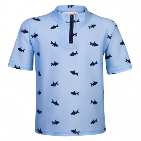 UV Shirt Blue Fish