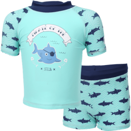 UV shirt und Badehose Krokodil