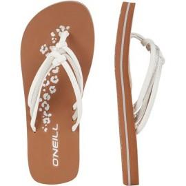 Ditsy Sandals - Powder White