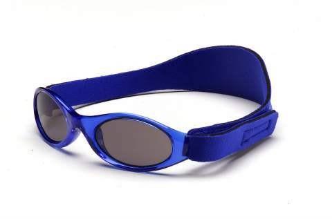 Babybanz baby sonnenbrille blau mon