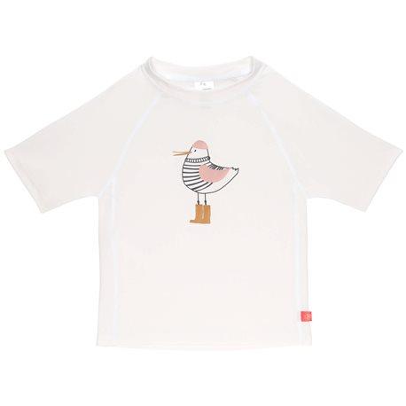 UV shirt Mrs. Seagull - Kurzarm - weiß - Lassig