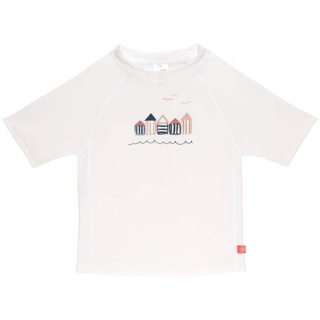 UV Shirt Beach house - kurzarm - weiß