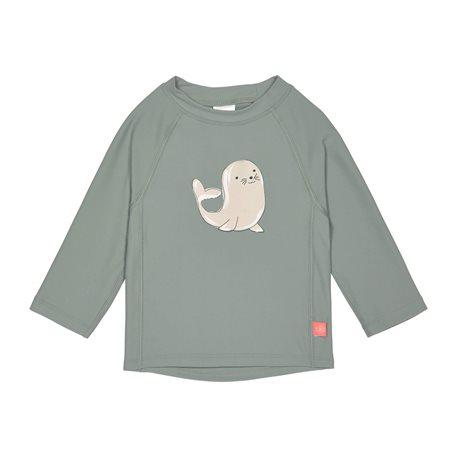 UV shirt Whale Langarm - grün Lassig