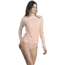 UV shirt orange stripe