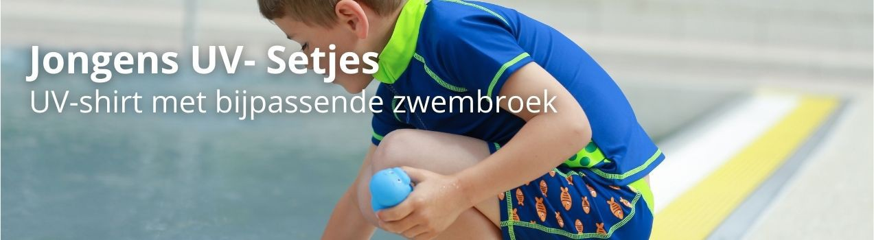 SunnyKids: UV Shirt & UV Boardshort | UV Set Jungen
