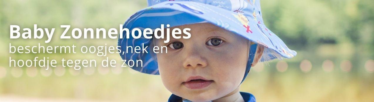 Sonnenhut Baby | Baby Sonnenhut mit Nackenschutz