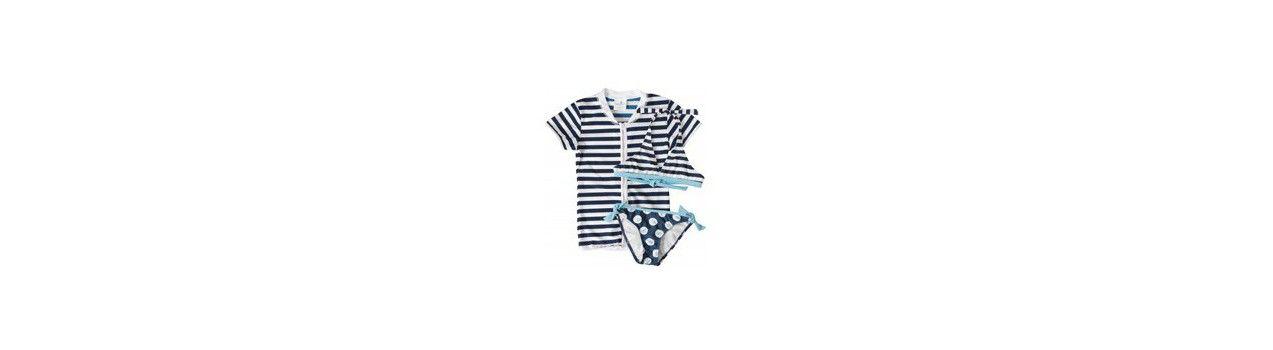 UV Shirt & Bikini / Badeanzug | UV badeset
