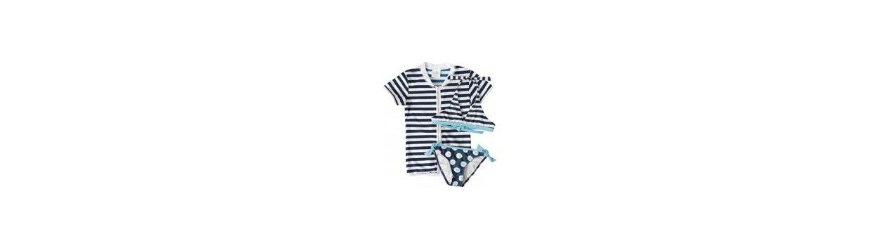 Bikini oder Badeanzug mit passendem UV Shirt