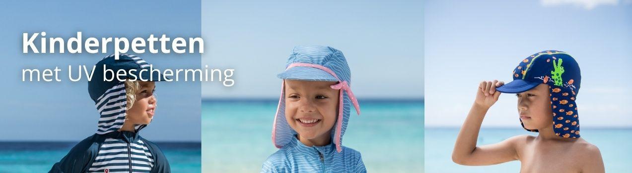 Sunnykids: Kindermützen mit UV-Schutz | sonnenhut mit nackenschutz